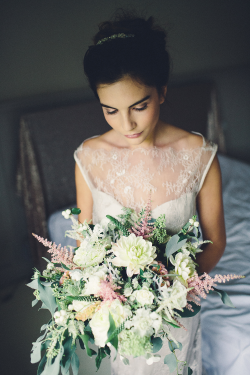 Bouquet by Florist in the Forest